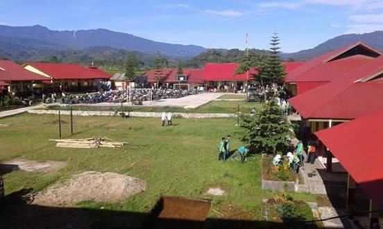SMAN 6 Solok Selatan Mendapatkan Bantuan Rehab Dari Disdikpora Propinsi