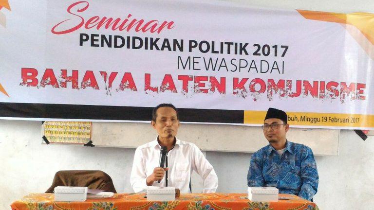 Cegah Paham Komunisme Masuk Ke Solok Selatan, PKS Adakan Seminar Pendidikan Politik
