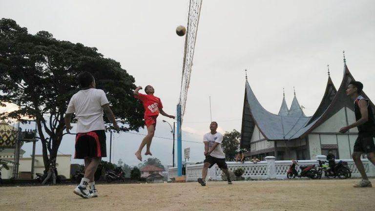 Solok Selatan Tuan Rumah Volley Nagari Tingkat Provinsi Zona IV