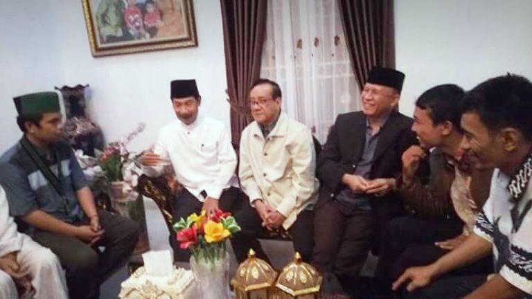Akbar Tanjung Silaturahmi ke Solok Selatan