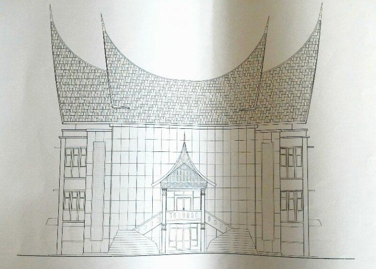 Gedung Nasional Dibangun 3 Lantai, Selesai Tahun Ini