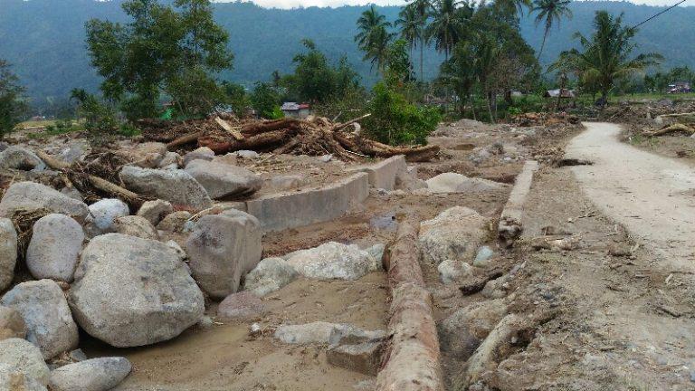 Pasca Banjir Bandang, Puluhan Hektar Persawahan Nagari Pakan Rabaa Tengah Terancam Tidak Berproduksi