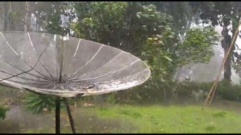 Ada Hujan Es Di Solok Selatan, Begini Videonya