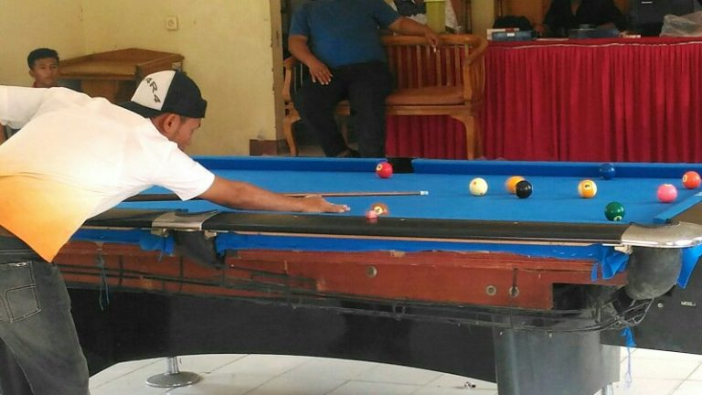 Sangir Jujuan Rebut 2 Emas Dari Billiard