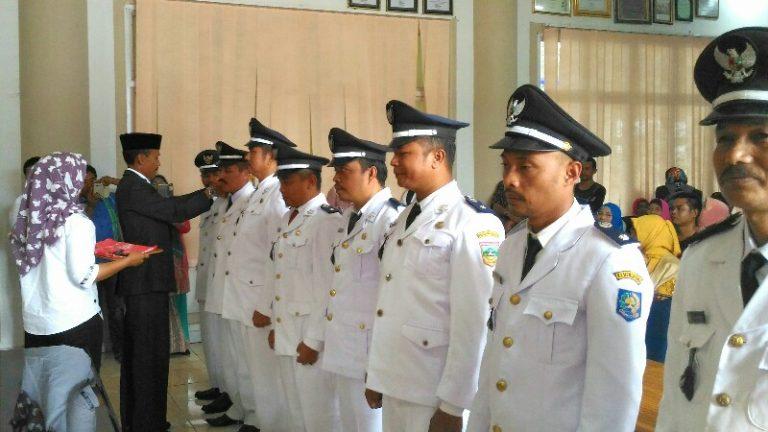 Delapan Pejabat Wali Nagari Persiapan Solsel Dilantik
