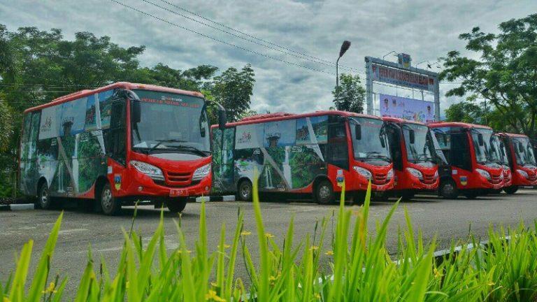 HUT Solsel, Setiap Kecamatan Dapatkan Bus Operasional