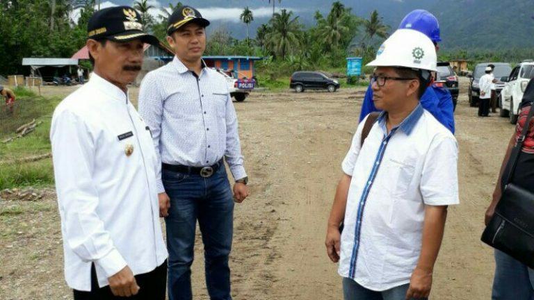 Jalan Inspeksi Batang Bangko Diusulkan Lebar 7 Meter