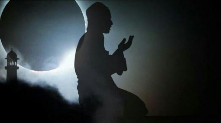 Bupati Himbau Shalat Gerhana Bulan Berjamaah