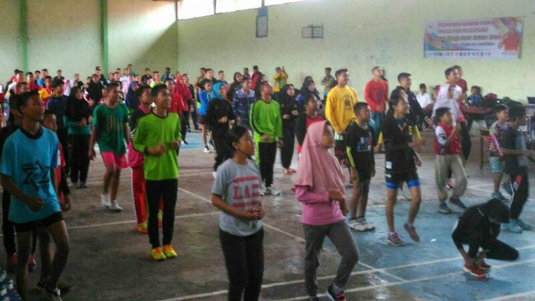 KONI Solok Selatan Gelar Tes Fisik Atlet