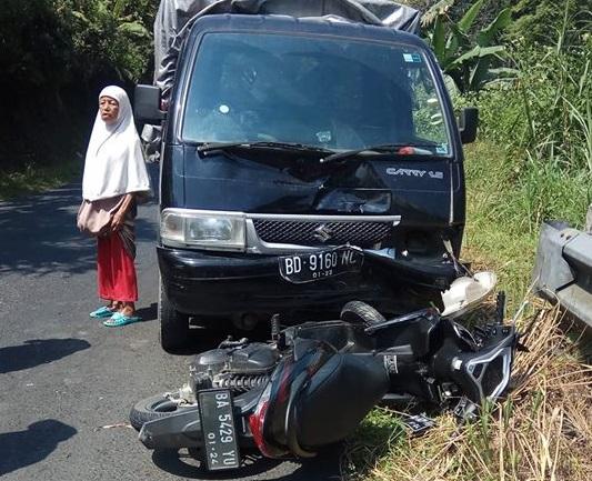 Kecelakaan Lalu Lintas di Kabupaten Solok Selatan
