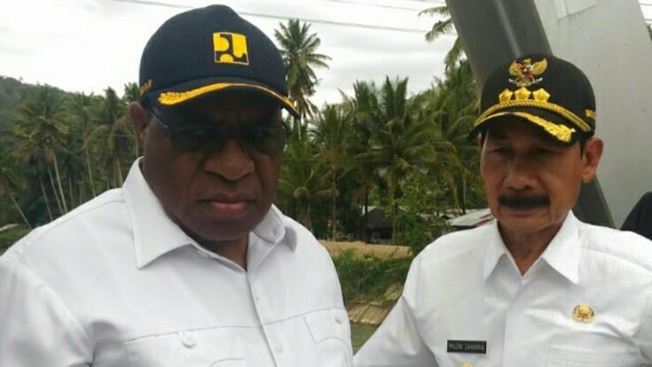 Wakil Menteri PUPR Kunjungi Solok selatan